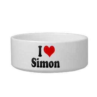 I love Simon Cat Water Bowls