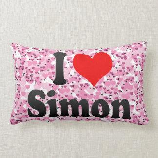 I love Simon Throw Pillow