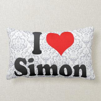 I love Simon Throw Pillows
