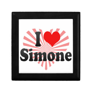 I love Simone Keepsake Boxes