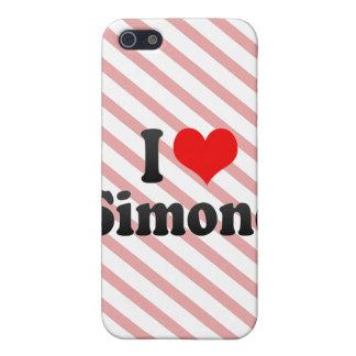 I love Simone iPhone 5 Covers