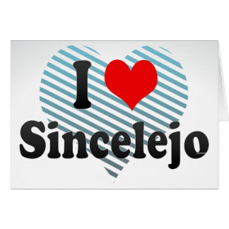 I Love Sincelejo, Colombia Cards