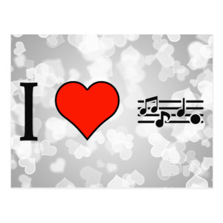 I Love Sinfonietta Postcard