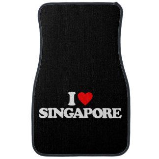 I LOVE SINGAPORE CAR MAT