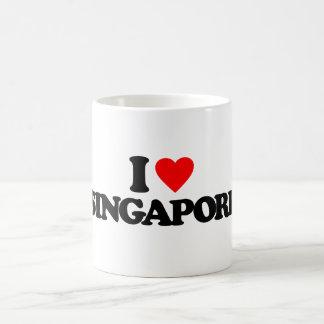 I LOVE SINGAPORE CLASSIC WHITE COFFEE MUG