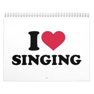 I love singing calendar