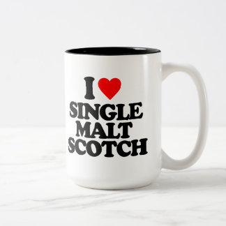 I LOVE SINGLE MALT SCOTCH MUGS
