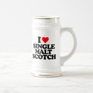 I LOVE SINGLE MALT SCOTCH MUG
