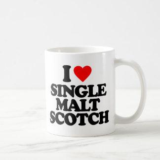 I LOVE SINGLE MALT SCOTCH COFFEE MUG