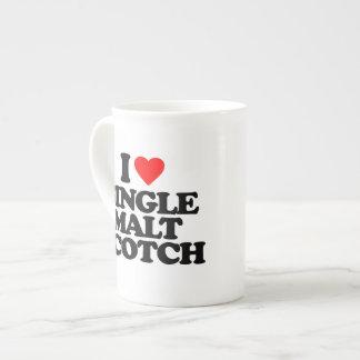I LOVE SINGLE MALT SCOTCH TEA CUP