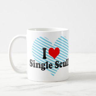 I love Single Scull Coffee Mug