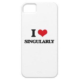 I Love Singularly iPhone 5 Covers
