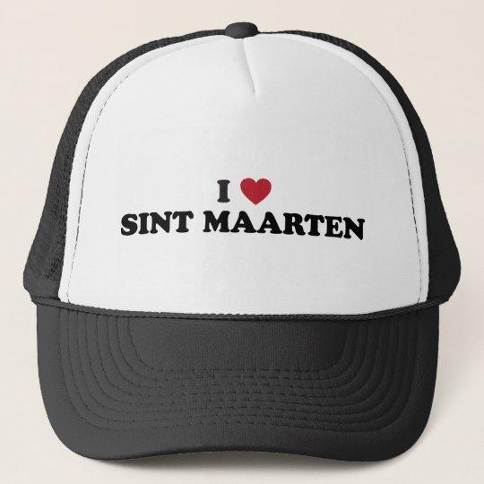 I Love Sint Maarten / Saint Martin Trucker Hat