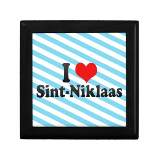 I Love Sint-Niklaas, Belgium Keepsake Boxes