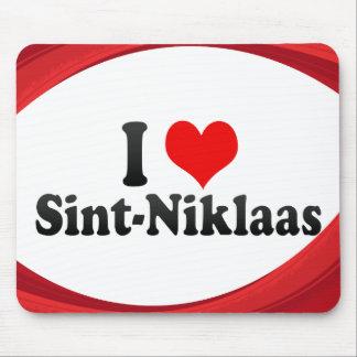 I Love Sint-Niklaas, Belgium Mouse Pad