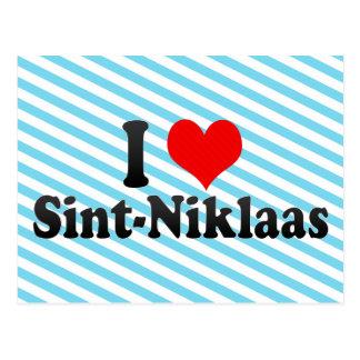 I Love Sint-Niklaas, Belgium Postcard