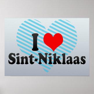 I Love Sint-Niklaas, Belgium Poster