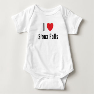 I love Sioux Falls Baby Jumper Baby Bodysuit