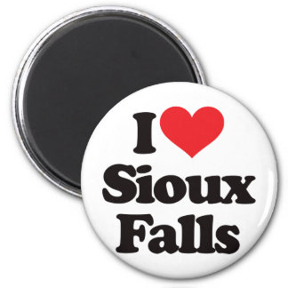 I Love Sioux Falls Magnet