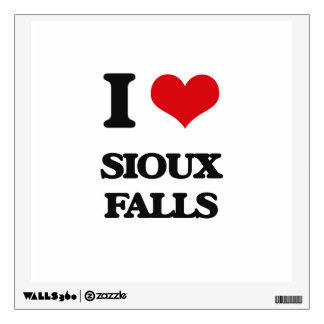 I love Sioux Falls Wall Stickers