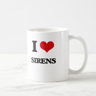 I Love Sirens Coffee Mug