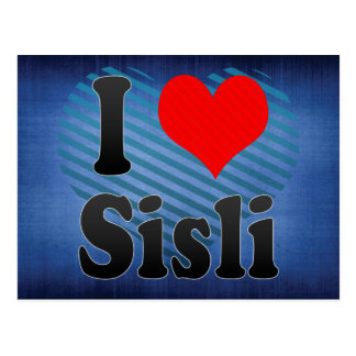 I Love Sisli, Turkey Postcard