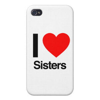 i love sisters covers for iPhone 4