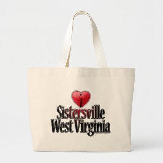 I Love Sistersville West Virginia Bag