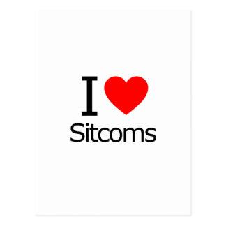 I Love Sitcoms Postcard