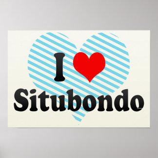 I Love Situbondo, Indonesia Poster