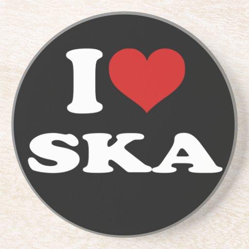 I Love Ska Coaster