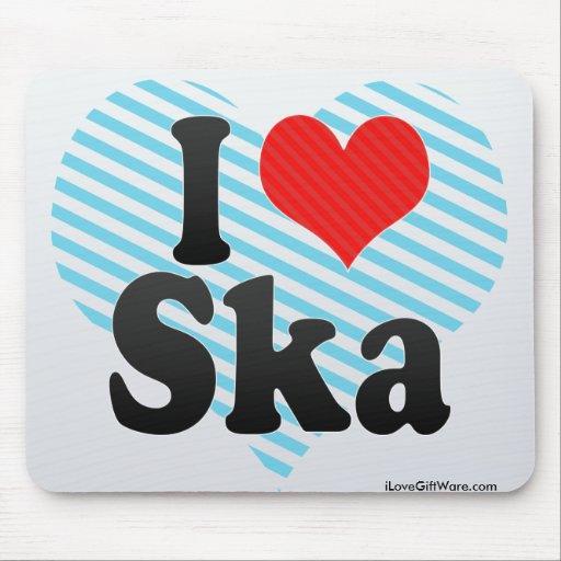 I Love Ska Mousepad
