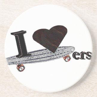 I Love Skaters Coaster