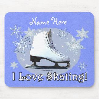 I Love Skating! Mouse Pad
