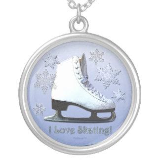 I Love Skating Custom Necklace
