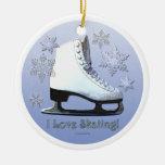 I Love Skating Ornaments
