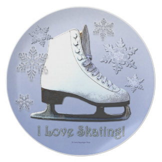 I Love Skating Plate