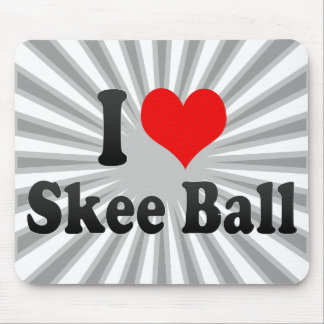 I love Skee Ball Mouse Pad