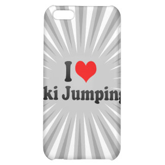 I love Ski Jumping iPhone 5C Case