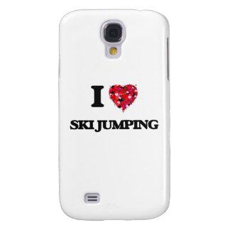 I Love Ski Jumping Samsung Galaxy S4 Cases