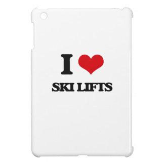 I love Ski Lifts iPad Mini Case