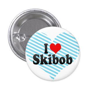 I love Skibob Pins