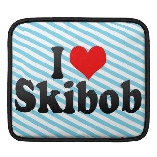 I love Skibob Sleeve For iPads