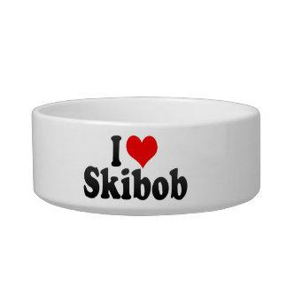I love Skibob Cat Food Bowls