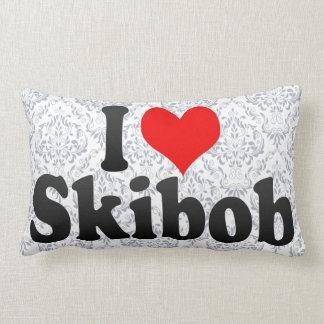 I love Skibob Pillows