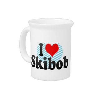 I love Skibob Pitchers