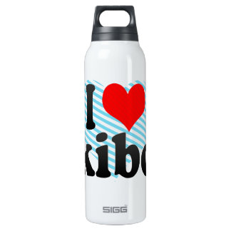 I love Skibob 16 Oz Insulated SIGG Thermos Water Bottle
