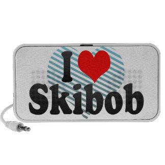 I love Skibob Laptop Speakers