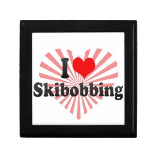 I love Skibobbing Trinket Box