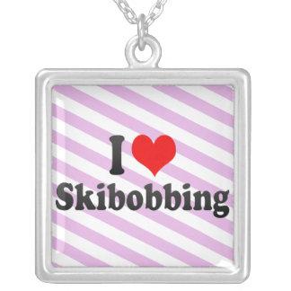 I love Skibobbing Pendant